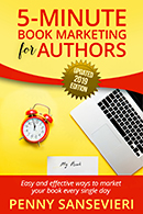 Five Minute Book Editing for Authors, edited Faith Freewoman